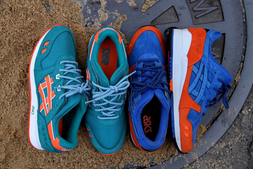Ronnie FIeg x ASICS Gel-Lyte III East Coast Project.