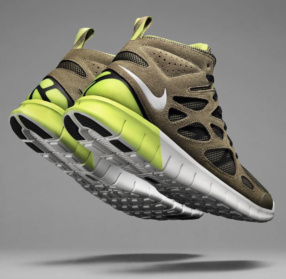 Nike Free Run+ 2 Sneakerboot