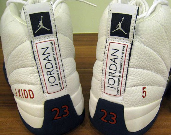 Nike Air Jordan 12 PE Jason Kidd