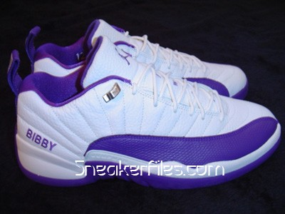 Nike Air Jordan 12 PE Mike Bibby