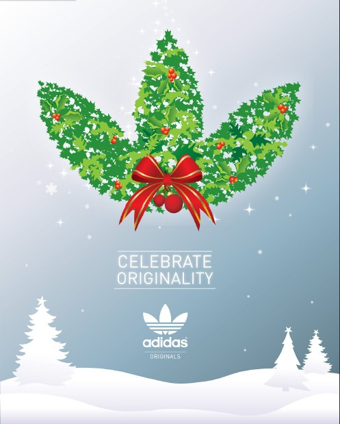 Adidas Originals Christmas Logo