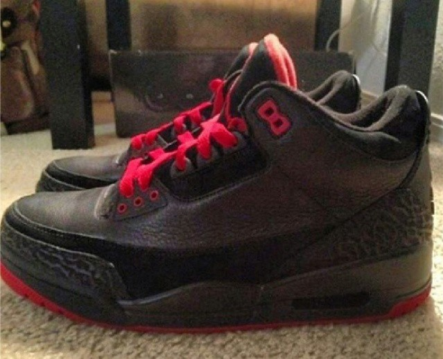 Air Jordan 3 Bred (Unreleased Sample)