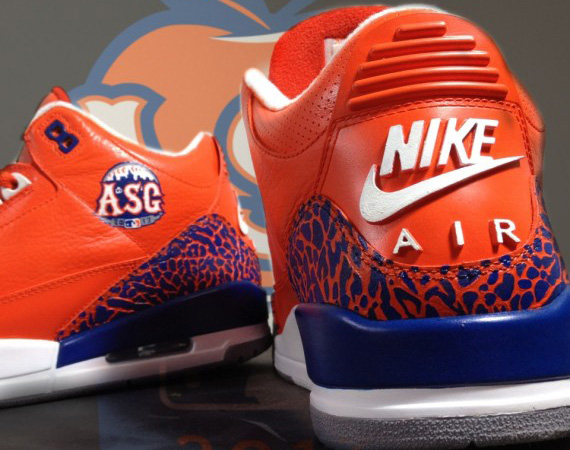 Air Jordan 3 MLB All-Stars (Custom by Mache)