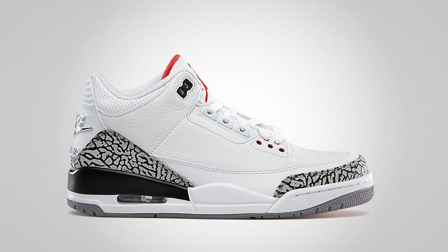 Air Jordan 3 White Cement
