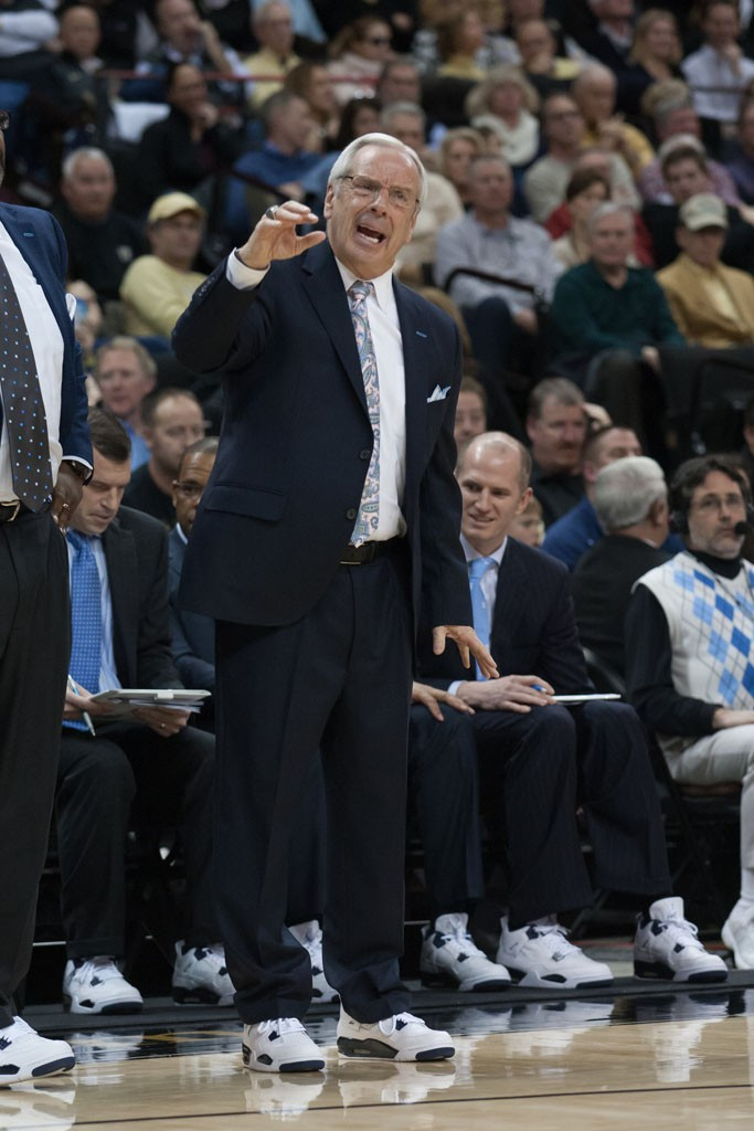 NCAA Basketball: North Carolina at Wake Forest