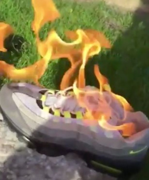 angry-girlfriend-sets-cheating-lovers-nike-110s-on-fire-1