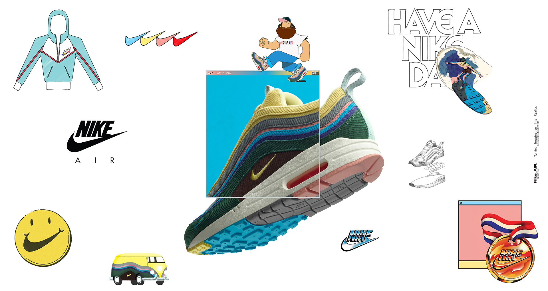 Nike Air Max 971 x Sean Wotherspoon: Dropping This Week